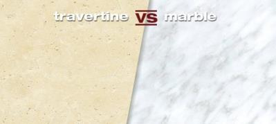 What are the Differences Between Travertine and Marble?
